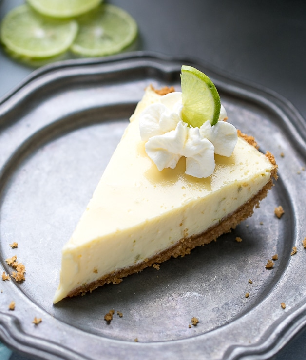 Key Lime Pie Recipe {Lightened Up}