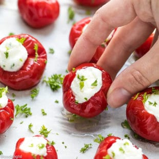 Stuffed Cherry Peppers Appetizer Recipe