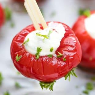 Stuffed Cherry Peppers Appetizer Recipe
