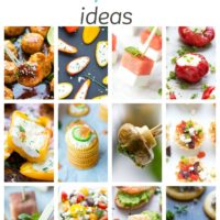 Easy Summer Party Food Ideas - appetizers, snacks, desserts and drinks. Cool stuff that will make your summer party fun and to be remembered.