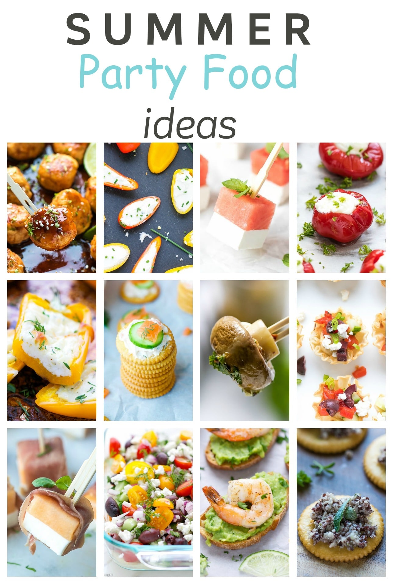 Easy summer party food ideas cooking lsl for Easy food ideas for parties