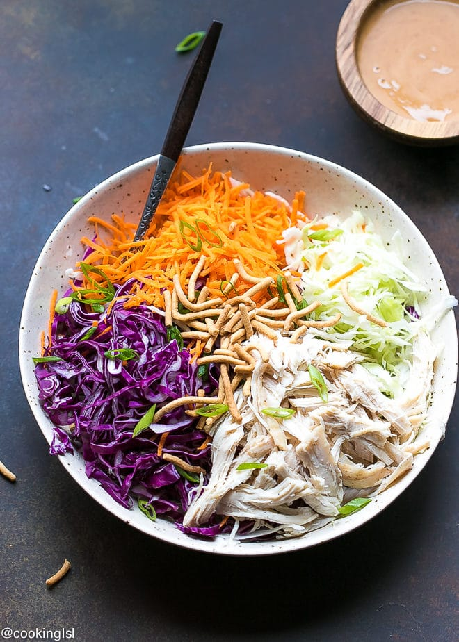 Easy Chinese Chicken Salad Recipe Cooking Lsl
