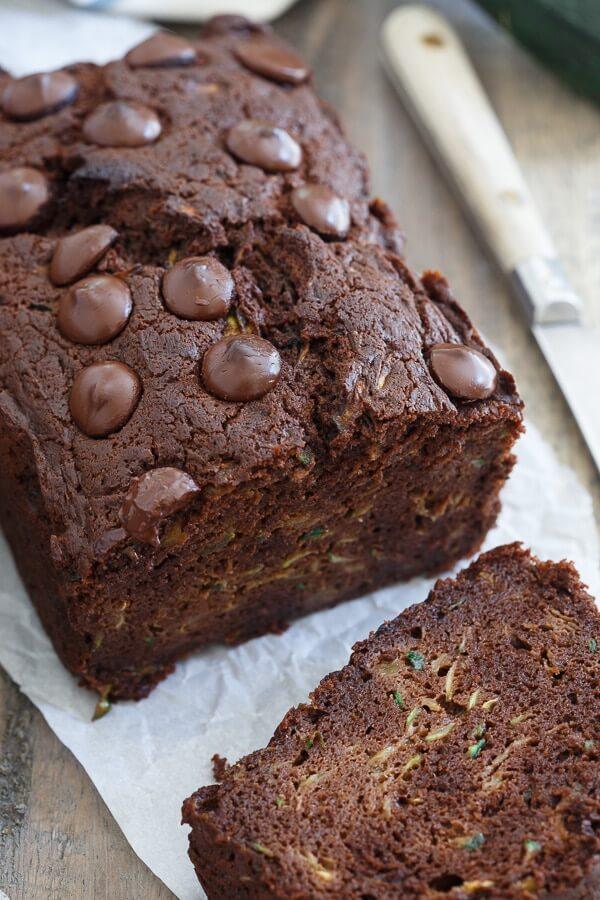 Chocolate Zucchini Bread Recipe Cooking Light