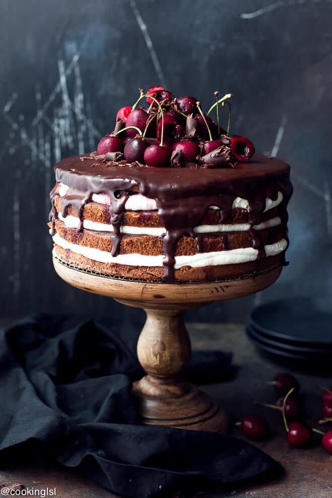 German Black Forest Cake Easy Recipe