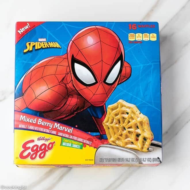Kellogg's® Eggo® Spider-Man Mixed Berry Marvel, 16 ct. Caramel Apple Waffle Cake Recipe