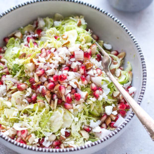 Shaved Brussel Sprouts Salad Recipe