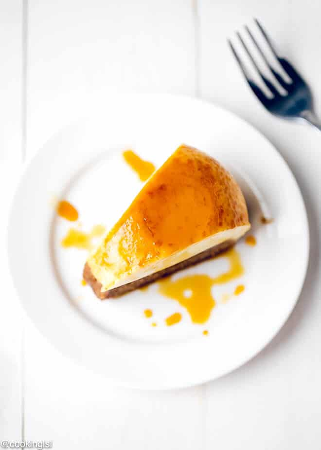 White Chocolate Flan Cake