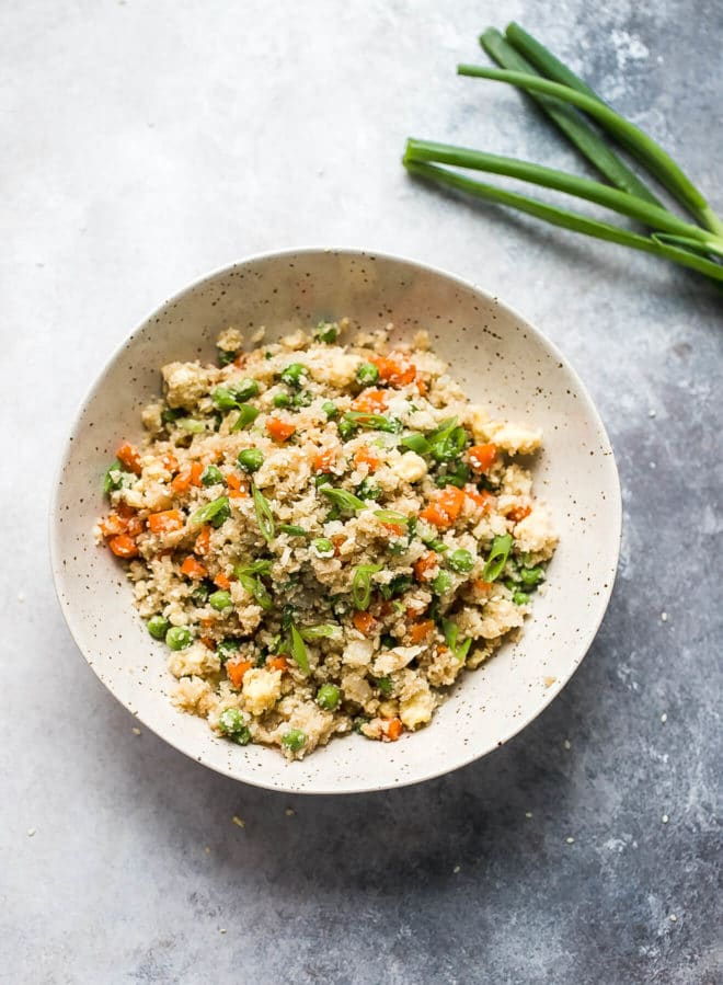 Cauliflower Fried Rice Recipe - Cooking LSL