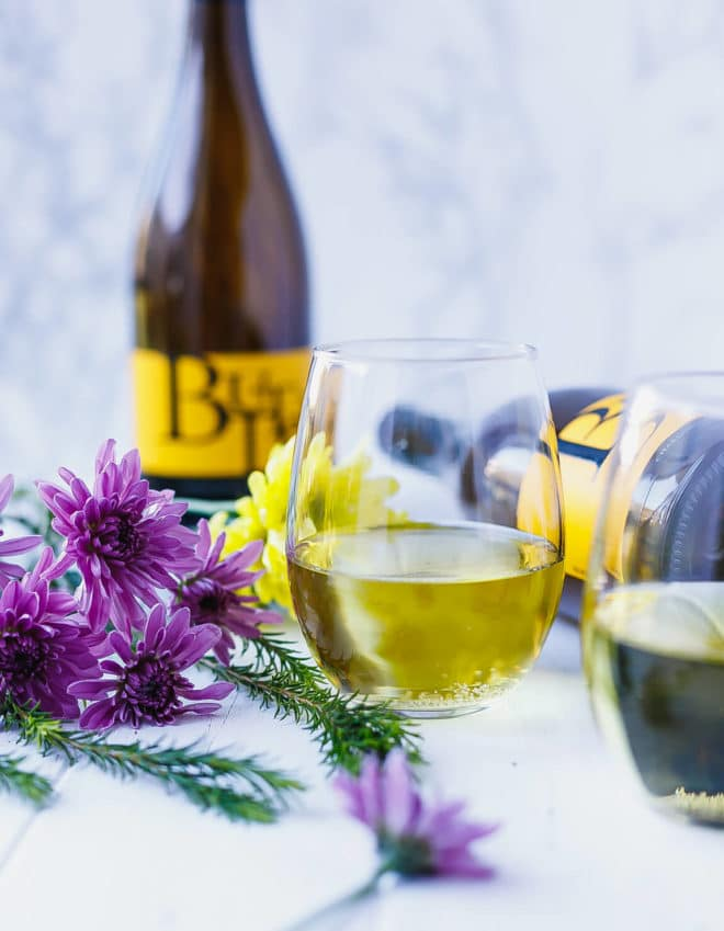 The Perfect Mother's Day With Butter . Chardonnay in a glass