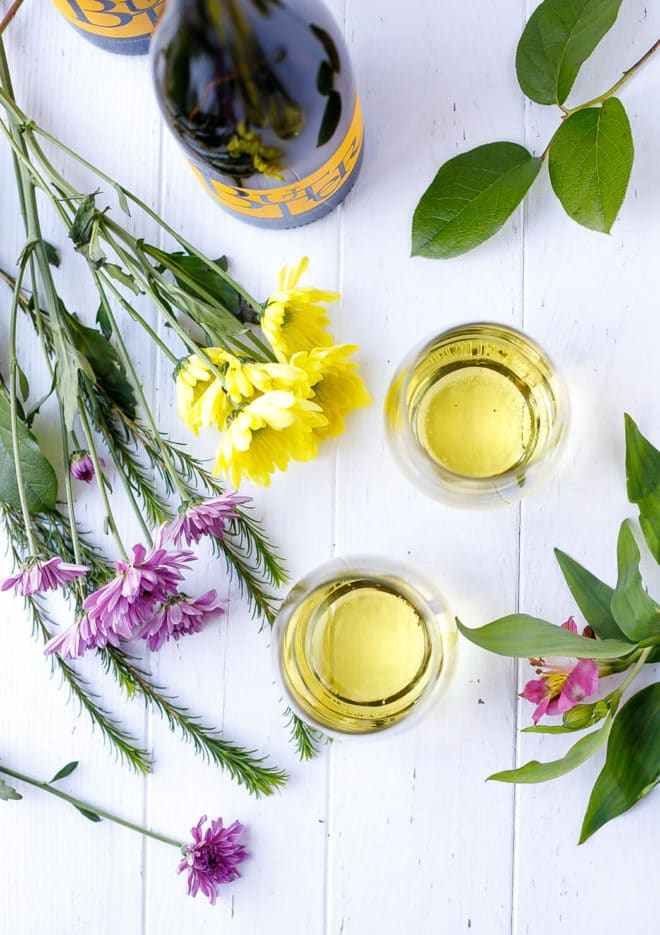 The Perfect Mother's Day With Butter Chardonnay in glasses