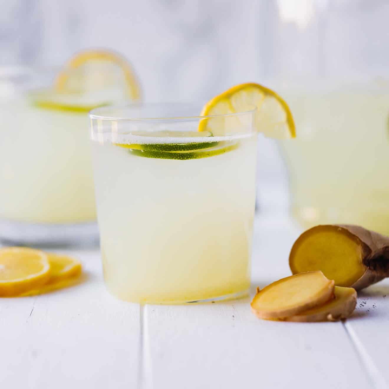 Ginger Lemonade Recipe (Low-Carb, Keto
