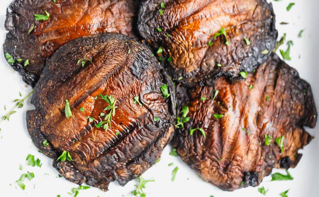 Grilled Portobello Mushrooms Recipe Cooking Lsl