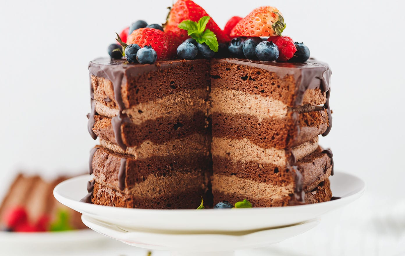 Easy  Layer Chocolate Cake Recipe