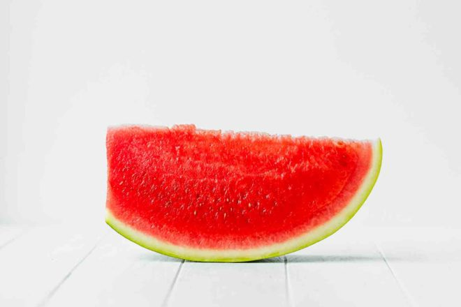 Easy Watermelon Smoothie Recipe watermelon slice