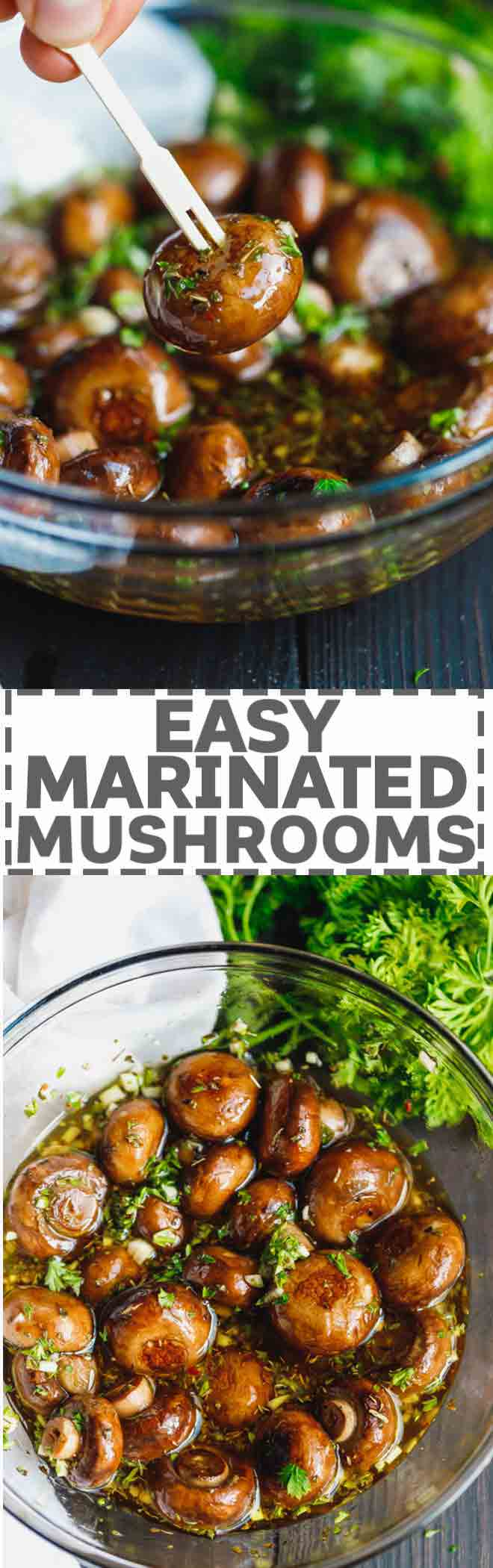 How to cook a delicious salad of marinated mushrooms