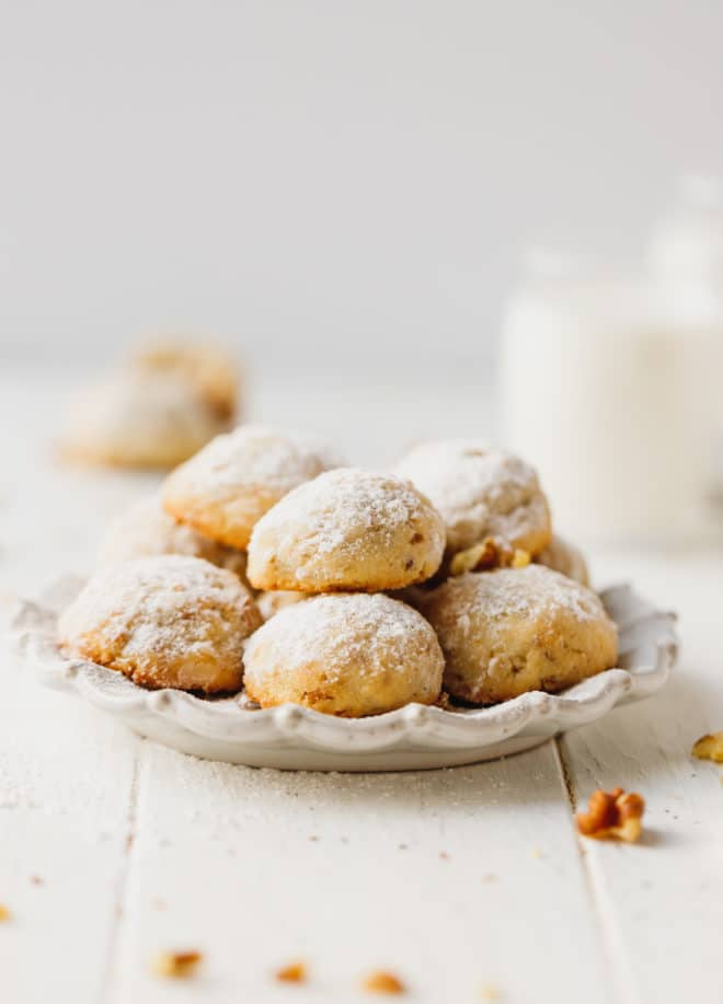 Walnut Snowball Cookies