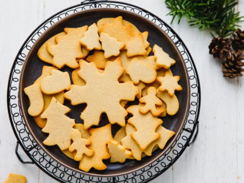Christmas Cutout Cookies.Low Carb Cut Out Cookies