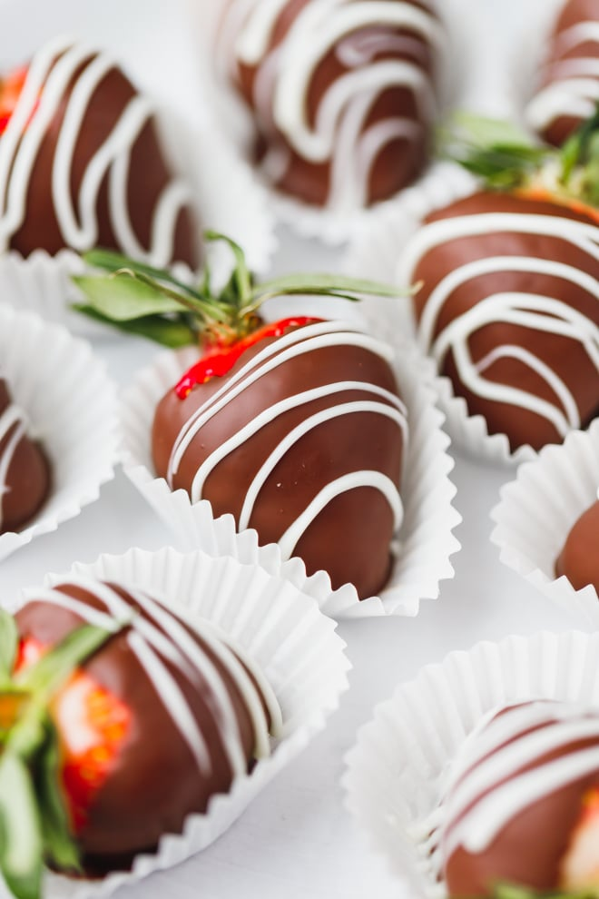Pictures Of Strawberries Dipped In Chocolate