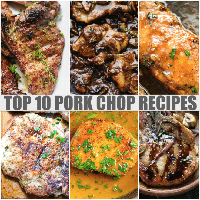 top 10 pork chop recipes collection