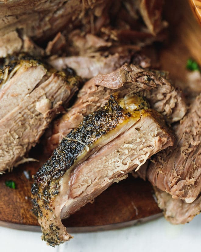 Slow Cooker Boneless Leg Of Lamb - Cooking LSL