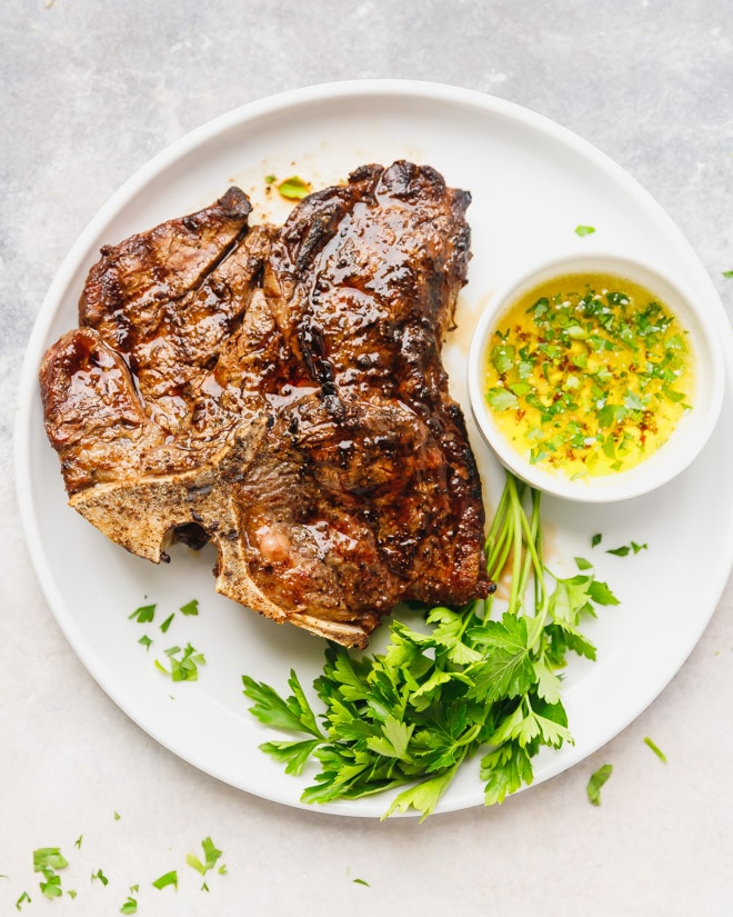 Grilled T Bone Steak Recipe - Cooking LSL