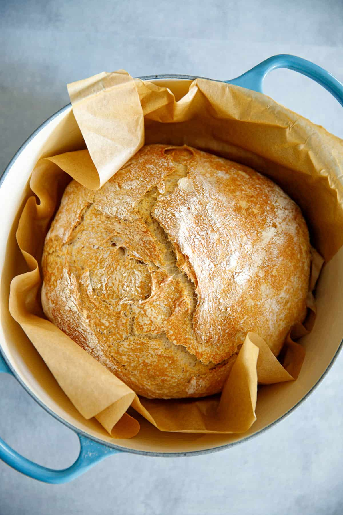 Quick No Knead Bread In Dutch Oven - Cooking LSL