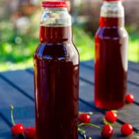 tart cherry juice concentrate in bottles